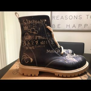 """Goby """"Jazz"""" combat boots... brand new size 7.5"""